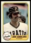 1981 Fleer #375  John Candelaria  Front Thumbnail