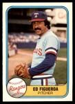 1981 Fleer #624  Ed Figueroa  Front Thumbnail