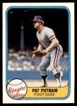 1981 Fleer #630  Pat Putnam  Front Thumbnail