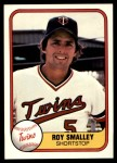 1981 Fleer #551  Roy Smalley  Front Thumbnail