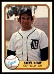 1981 Fleer #459  Steve Kemp  Front Thumbnail