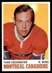1970 Topps #50  Yvan Cournoyer  Front Thumbnail