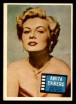 1957 Topps Hit Stars #67  Anita Ekberg   Front Thumbnail