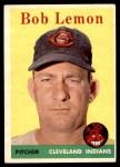 1958 Topps #2 WT Bob Lemon  Front Thumbnail