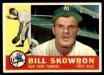 1960 Topps #370  Bill Skowron  Front Thumbnail