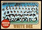 1968 Topps #424   White Sox Team Front Thumbnail