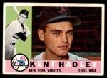 1960 Topps #102  Kent Hadley  Front Thumbnail