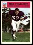 1966 Philadelphia #115  Mick Tingelhoff  Front Thumbnail
