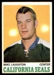 1970 O-Pee-Chee #74  Mike Laughton  Front Thumbnail