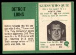 1966 Philadelphia #66   Lions Team Back Thumbnail