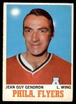 1970 O-Pee-Chee #86  Jean-Guy Gendron  Front Thumbnail