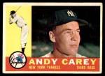1960 Topps #196  Andy Carey  Front Thumbnail