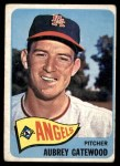1965 Topps #422  Aubrey Gatewood  Front Thumbnail