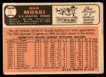 1966 Topps #74  Don Mossi  Back Thumbnail