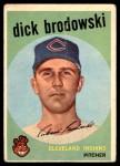1959 Topps #371  Dick Brodowski  Front Thumbnail