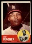 1963 Topps #335  Leon Wagner  Front Thumbnail