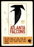 1966 Philadelphia #13   Falcons Logo Front Thumbnail
