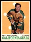 1970 O-Pee-Chee #191  Earl Ingarfield  Front Thumbnail