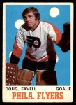 1970 O-Pee-Chee #199  Doug Favell  Front Thumbnail