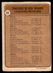1974 O-Pee-Chee NHL #69   -  Jim Pappin / Stan Mikita / J.P. Bordeleau Blackhawks Leaders Back Thumbnail