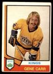 1974 O-Pee-Chee NHL #320  Gene Carr  Front Thumbnail