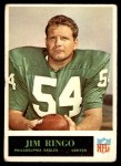 1965 Philadelphia #138  Jim Ringo  Front Thumbnail