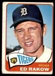 1965 Topps #454  Ed Rakow  Front Thumbnail