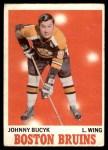1970 O-Pee-Chee #2  Johnny Bucyk  Front Thumbnail