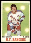 1970 O-Pee-Chee #63  Rod Gilbert  Front Thumbnail