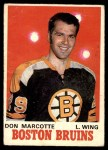 1970 O-Pee-Chee #138  Don Marcotte  Front Thumbnail