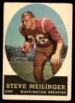 1958 Topps #33  Steve Meilinger  Front Thumbnail