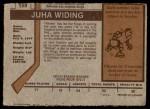 1973 O-Pee-Chee #159  Juha Widing  Back Thumbnail
