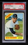 1966 Topps #527  Julio Navarro  Front Thumbnail