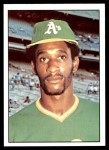 1976 SSPC #489  Claudell Washington  Front Thumbnail