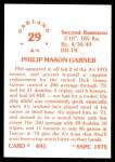 1976 SSPC #495  Phil Garner  Back Thumbnail