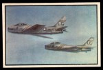 1954 Bowman Power for Peace #34   FJ Furies in Flight Front Thumbnail