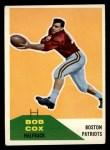 1960 Fleer #86  Bob Cox  Front Thumbnail