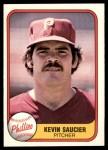 1981 Fleer #24 BCK Kevin Saucier  Front Thumbnail