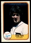 1981 Fleer #480 PIT Stan Papi  Front Thumbnail