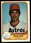 1981 Fleer #57  Nolan Ryan  Front Thumbnail