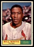1961 Topps #232  Bill White  Front Thumbnail