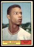 1961 Topps #183 COR Andre Rodgers  Front Thumbnail
