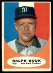 1961 Topps #133  Ralph Houk    Front Thumbnail
