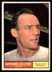 1961 Topps #212  Haywood Sullivan  Front Thumbnail