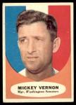 1961 Topps #134  Mickey Vernon  Front Thumbnail