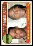 1969 O-Pee-Chee #156   -  Hal Gilson / Leon McFadden Astros Rookies Front Thumbnail