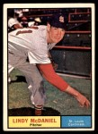 1961 Topps #266  Lindy McDaniel  Front Thumbnail