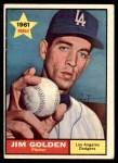 1961 Topps #298  Jim Golden  Front Thumbnail