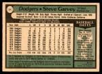 1979 O-Pee-Chee #21  Steve Garvey  Back Thumbnail