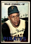 1967 O-Pee-Chee #140  Willie Stargell  Front Thumbnail